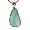 Stunning Genuine Sea Glass Pendant