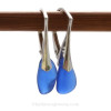 These are the EXACT pair of Sea Glass Earrings you will receive!