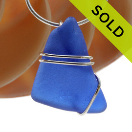 SOLD - Sorry this Sea Glass Pendant is NO LONGER AVAILABLE!!