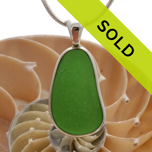 Sorry this sea glass jewelry piece has been sold!