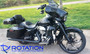 "Rotation Falcon Darkside Custom Motorcycle Wheel 21"""