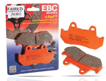 EBC Semi-Sintered V-Pad