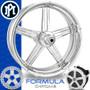 Performance Machine Supra Chrome Custom Motorcycle Wheel