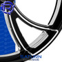 Rotation Saturn Darkside Custom Motorcycle Wheel