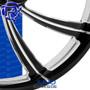 Rotation Juno Darkside Custom Motorcycle Wheel