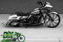 """Rotation Juno Darkside 26"""" Custom Motorcycle Wheel Package"""