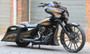 """Rotation Apollo Darkside 26"""" front Custom Motorcycle Wheel Package"""