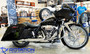 """Rotation Thor Chrome 23"""" front Custom Motorcycle Wheel Package"""