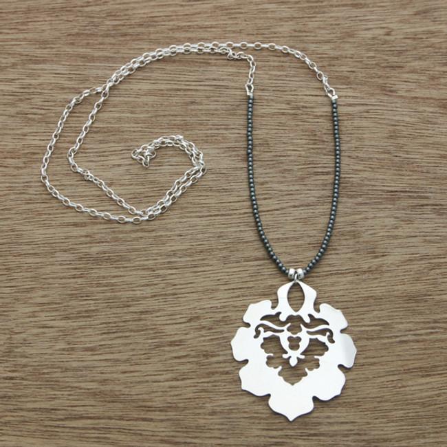 Indi hematite necklace