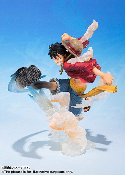 Figuarts Zero Monkey D Luffy Gum Gum No Hawk Whip Pvc Figure