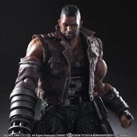 Final Fantasy VII Remake Play Arts Kai No.2 Barret Wallace Action Figure