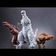 Shin Godzilla Movie Monster Series Godzilla 2016 Form change 3 Piece Set