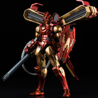 RE:EDIT IRON MAN #12 House of M Armor Action Figure (Completed)