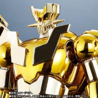 Super Robot Chogokin SHIN MAZINGER Z GOLD Ver. Action Figure (Completed)
