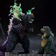 S.H.MonsterArts Space Godzilla & Little Godzilla Special Color Ver. (Completed)