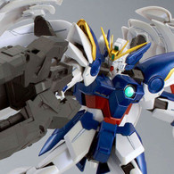 MG 1/100 Wing Gundam Zero EW + Drei Zwerg [Special Coating Custom] Plastic Model
