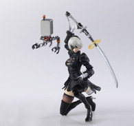 NieR:Automata BRING ARTS 2B & Mechanical Life Form PVC Figure (Completed)