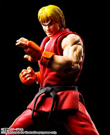 S.H.Figuarts Ken Masters Action Figure (Completed)