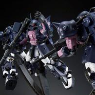RG 1/144 MS-06R-1A Black Tri-Stars Zaku II (Triple Action Set) Plastic Model ( MAY 2018 )