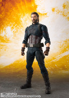 S.H.Figuarts Captain America (Avengers: Infinity War) Action Figure (Completed)