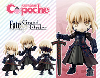 Cu-poche Saber/Altria Pendragon [Alter] Action Figure