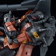 RG 1/144 Gabby Hazard's Zaku II Plastic Model
