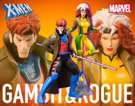 ARTFX+ Marvel Universe - Gambit & Rogue 2 Pack 1/10 PVC Figure