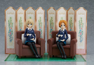 figma Girls und Panzer das Finale - Darjeeling & Orange Pekoe Set Action Figure
