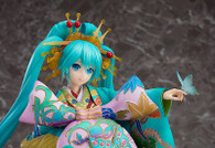 Hatsune Miku: Chokabuki Kuruwa Kotoba Awase Kagami Ver. 1/7 PVC Figure