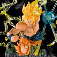 Figuarts Zero Super Saiyan Son Gokou -The Burning Battles- PVC Figure