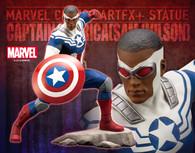 ARTFX+ MARVEL UNIVERSE Captain America (Sam Wilson) 1/10 PVC Figure
