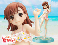 Toaru Kagaku no Railgun - Mikoto Misaka -Beach Side- Renewal Package 1/7 PVC Figure