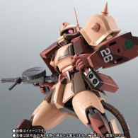 Robot Spirit Side MS MS-06D Zaku Desert Type Caracal Corps ver. A.N.I.M.E. Action Figure