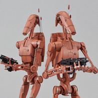 1/12 Battle Droid (Geonosis Color) Set Plastic Model ( DEC 2018 )