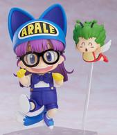 Nendoroid Dr.SLUMP ARALE CHAN - Arale Norimaki: Cat Ears Ver. & Gatchan Action Figure