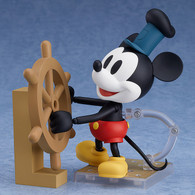 Nendoroid Steamboat Willie - Mickey Mouse: 1928 Ver. (Color) Action Figure