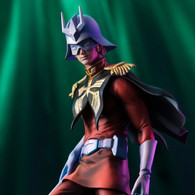 GGG Gundam Guys Generation Char Aznable Art Graphics 1/8 PVC Figure
