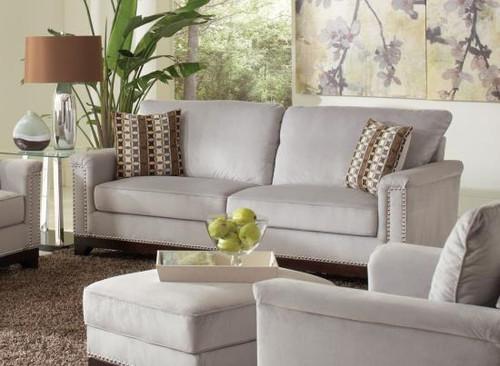 Coaster Mason Track Arm Sofa in Grey DealBeds