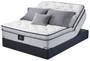 Serta Perfect Sleeper Lockland Super Pillow Top Mattress on Pivot Base