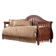 Fashion Bed Group Fraser Daybed in Walnut with Link Spring