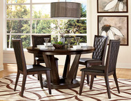 Homelegance Villa Vista 5 Piece Dining Set