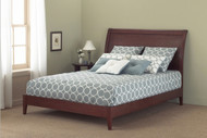Fashion Bed Java Modern Platform Bed in Mahogany