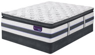 Serta iComfort Hybrid HB500Q Super Pillow Top Mattress Set