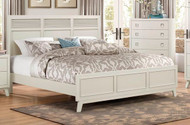Homelegance Valpico Light Gray Casual Contemporary Bed