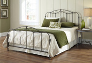 Fashion Bed Group Affinity Bed in Blackened Taupe Image 1