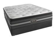 Simmons Beautyrest Black Katarina Plush Pillow Top Mattress Set
