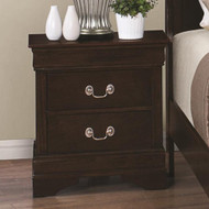 Coaster Louis Philippe 202 Nightstand with 2 Drawers