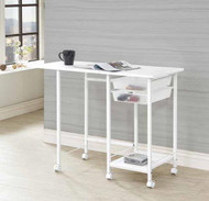 Coaster Aura Folding Desk with Casters