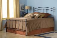 Fashion Bed Group Sanford Steel Bed in Matte Black Image 1