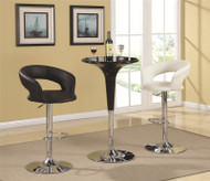 Coaster Jack Bar Table in Black